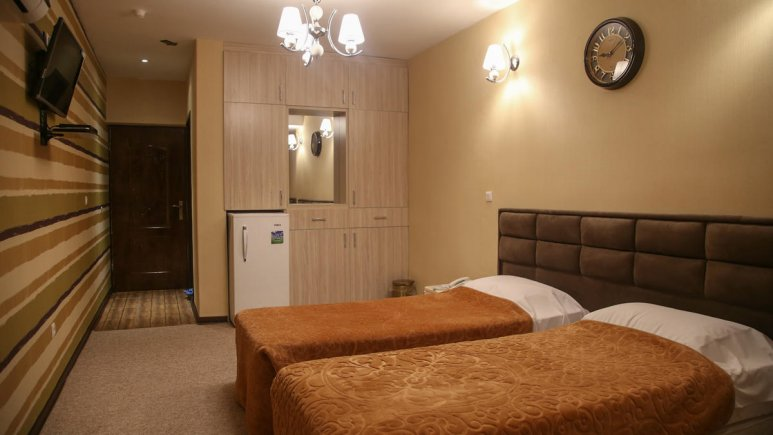 هتل آوان دزفول اتاق دو تخته تویین