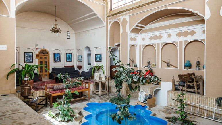 هتل سنتی والی یزد فضای داخلی هتل 1
