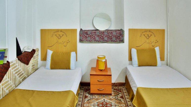هتل سنتی والی یزد اتاق دو تخته تویین 1