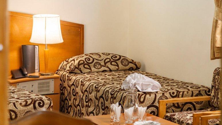 هتل شیراز مشهد فضای داخلی اتاق ها