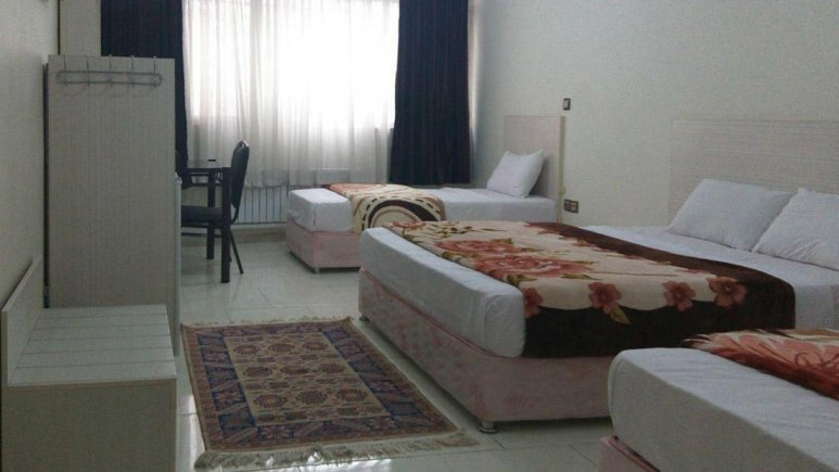 هتل آراد تهران اتاق چهار تخته