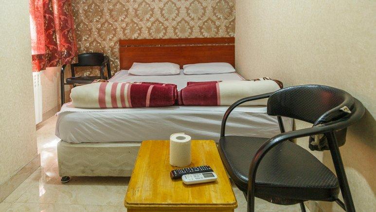 مهمانسرای کشاورز تهران اتاق دو تخته دابل