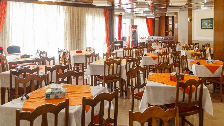هتل اورین تهران رستوران