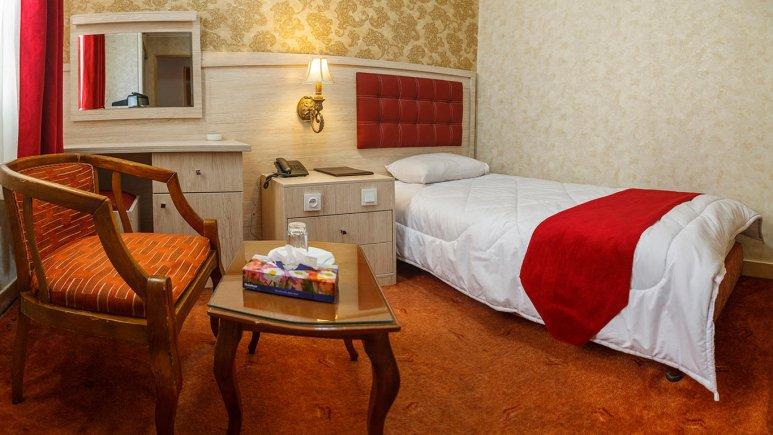 هتل اورین تهران اتاق یک تخته