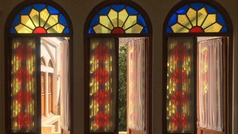 اقامتگاه سنتی سرای نه چم کاشان فضای داخلی اقامتگاه 3