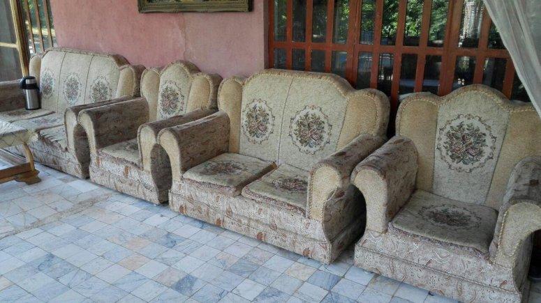 اقامتگاه سنتی باغ گلستان الموت شرقی فضای داخلی اقامتگاه