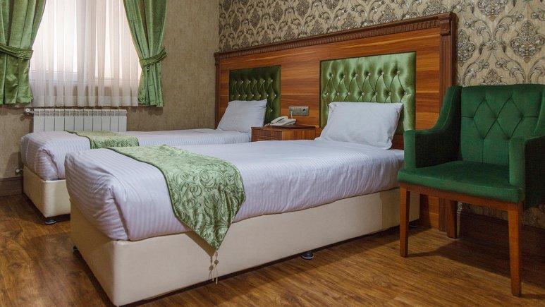 هتل شهریار تهران اتاق دو تخته تویین