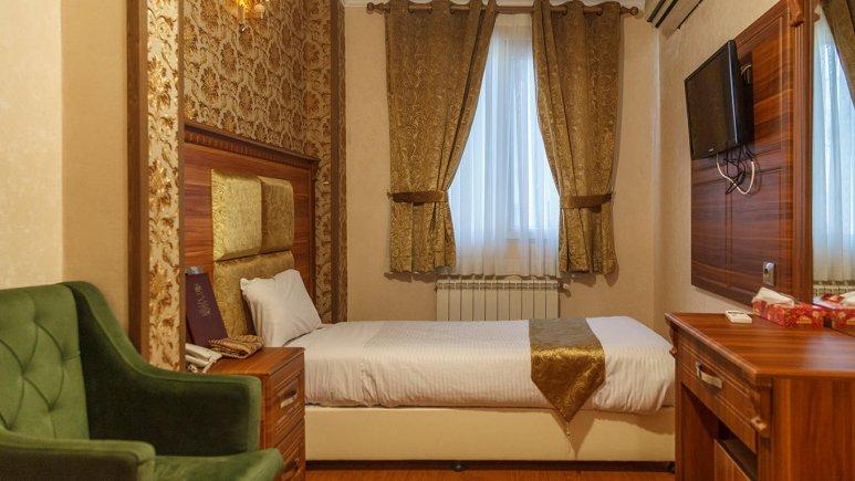 هتل شهریار تهران اتاق یک تخته 1