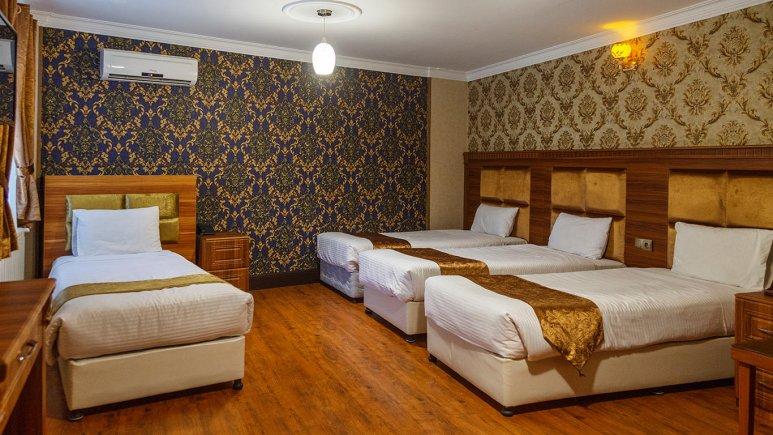 هتل شهریار تهران سوئیت چهار تخته 1