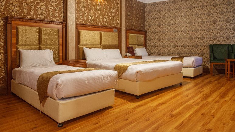هتل شهریار تهران سوئیت چهار تخته 2