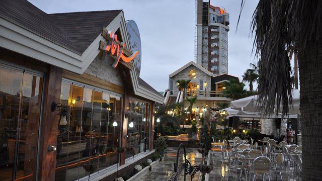 هتل صدف محمود آباد سفره خانه سنتی