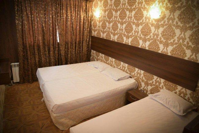 هتل آپارتمان نور مشهد سوئیت سه تخته