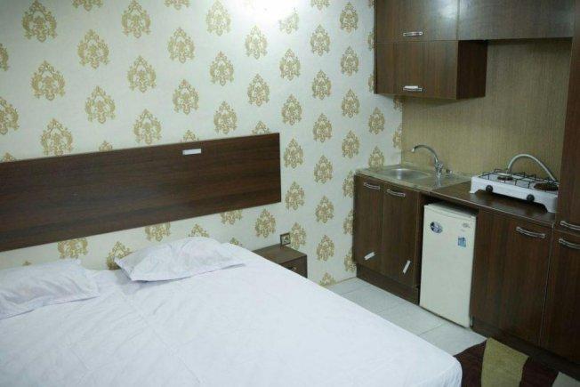 هتل آپارتمان نور مشهد سوئیت دو تخته