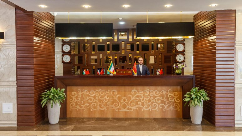 هتل پارسیس مشهد پذیرش