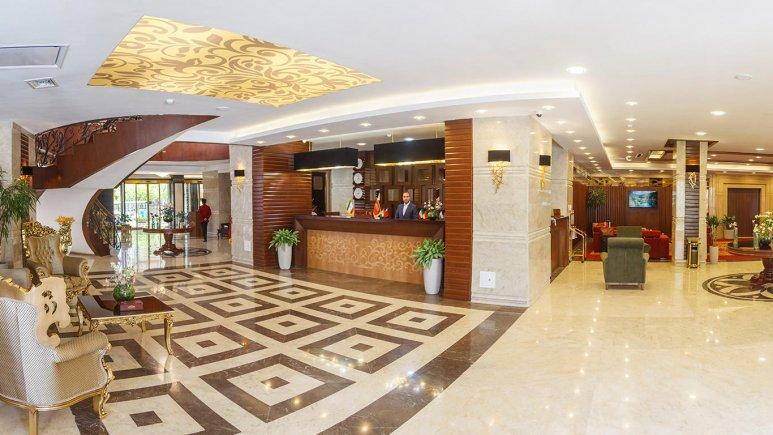 هتل پارسیس مشهد لابی 1