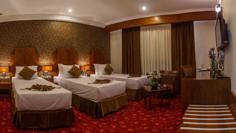 هتل پارسیس مشهد اتاق سه تخته