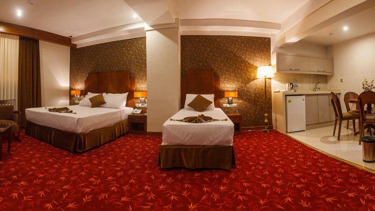 هتل پارسیس مشهد سوئیت سه تخته