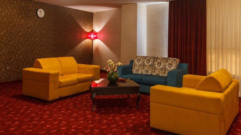 هتل پارسیس مشهد فضای داخلی اتاق ها 1