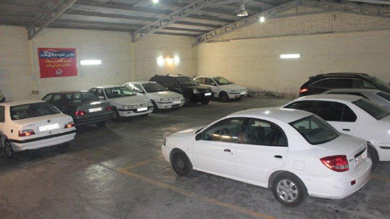 هتل ماهان قم پارکینگ