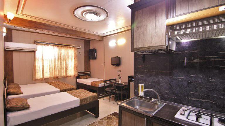 هتل ماهان قم سوئیت چهار تخته 2