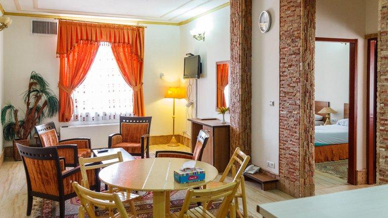 هتل تهرانی یزد فضای داخلی سوئیت ها 1