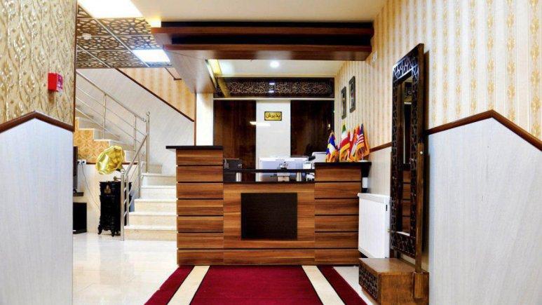 هتل الزهرا یزد پذیرش