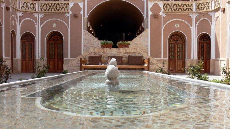 هتل کاروانسرای مشیر یزد فضای داخلی هتل 4