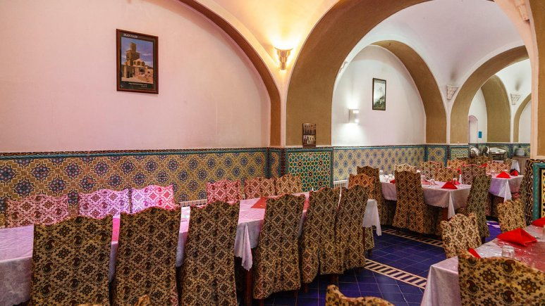 هتل کاروانسرای مشیر یزد رستوران
