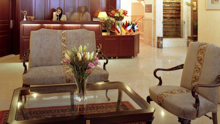 لابی هتل آپارتمان مدیا
