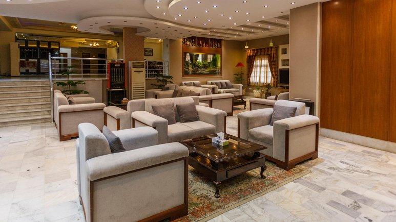 هتل آپارتمان شمس شیراز لابی