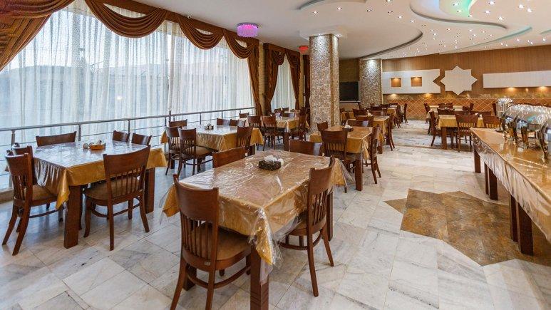 هتل آپارتمان شمس شیراز رستوران 1