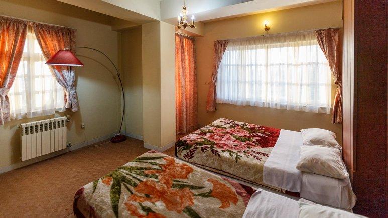 هتل آپارتمان شمس شیراز آپارتمان یک خوابه سه تخته 1
