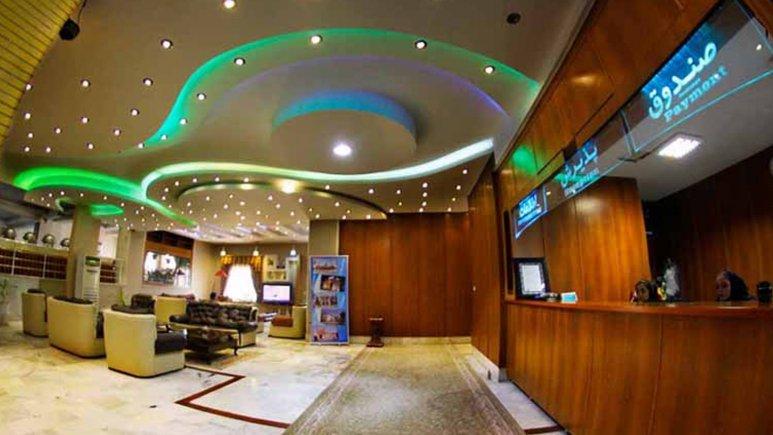 لابی هتل آپارتمان شمس شیراز