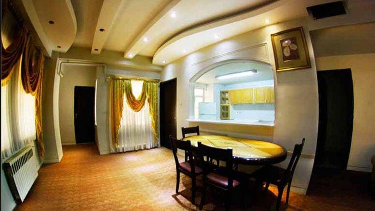 نمایی از سوئیت هتل آپارتمان شمس شیراز