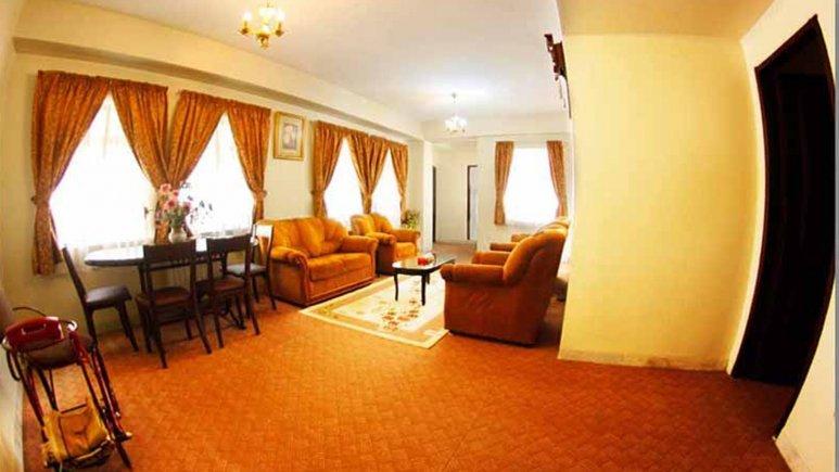 نمایی از هتل آپارتمان شمس شیراز