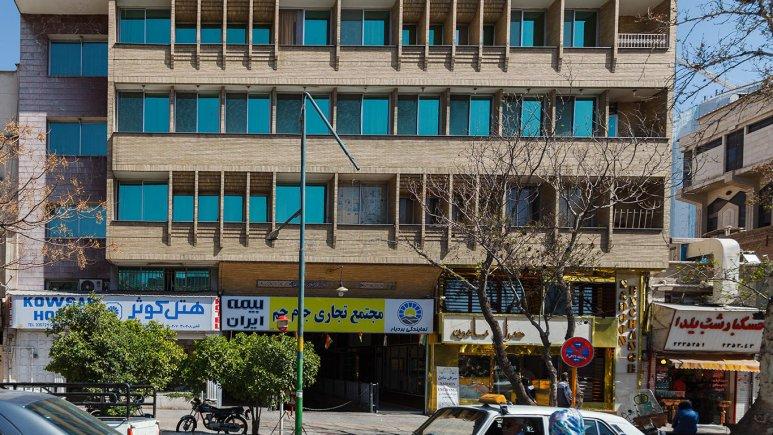 هتل کوثر شیراز نمای بیرونی