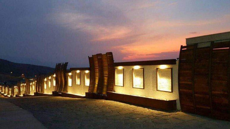 هتل هفت دریا شیراز فضای بیرونی هتل 3