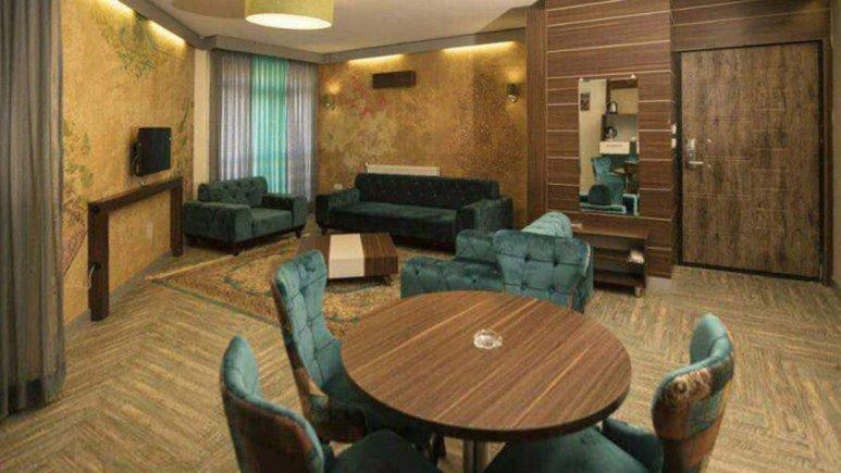 هتل هفت دریا شیراز فضای داخلی آپارتمان ها 1