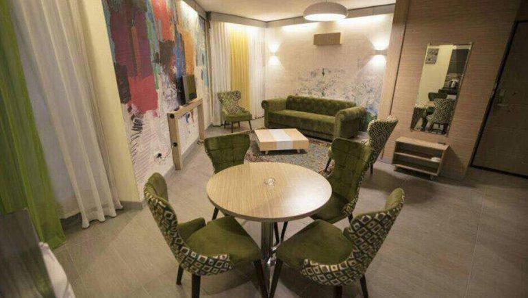 هتل هفت دریا شیراز فضای داخلی آپارتمان ها 3