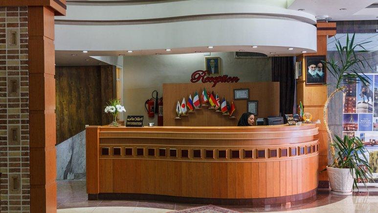 هتل آریانا شیراز پذیرش 2