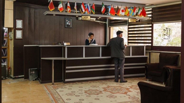 هتل صدرا شیراز پذیرش