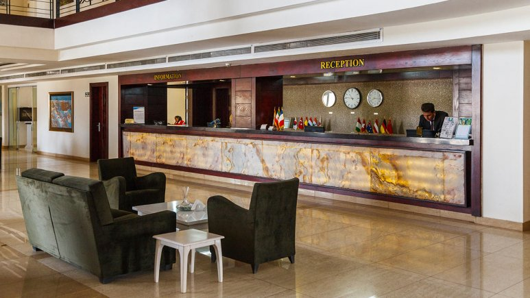 هتل ارگ جدید یزد پذیرش