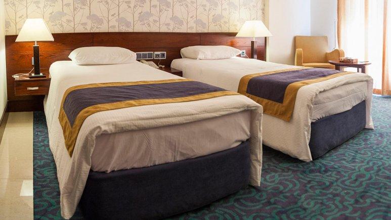 هتل ارگ جدید یزد اتاق دو تخته تویین 2