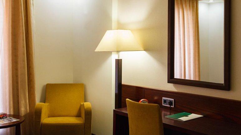 هتل ارگ جدید یزد فضای داخلی اتاق ها