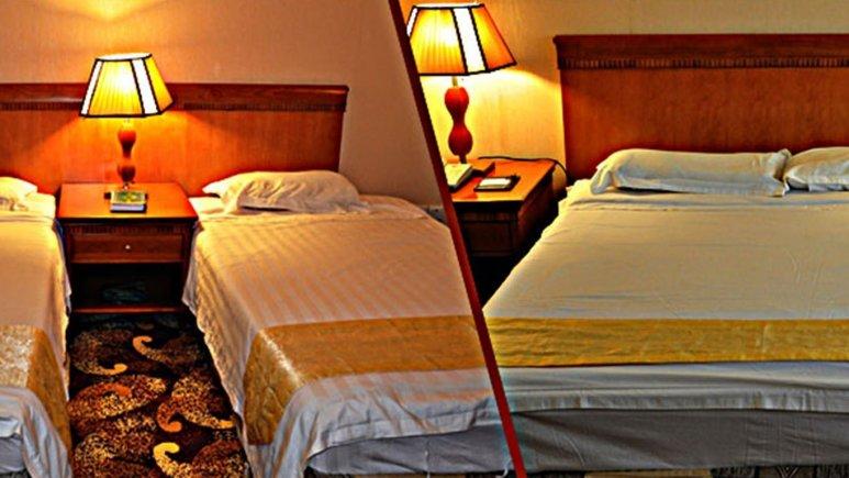 اتاق دو تخته هتل پارمیس