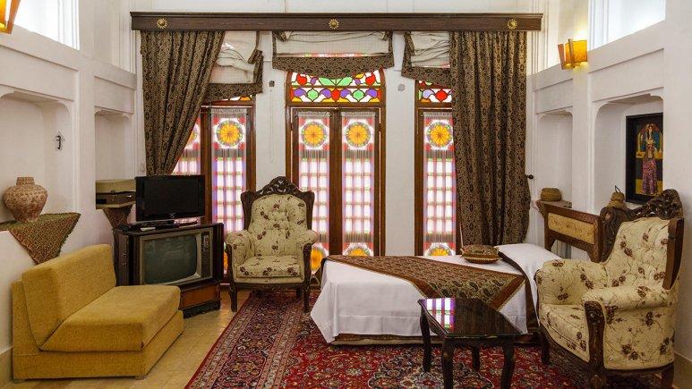 هتل موزه فهادان یزد فضای داخلی اتاق ها