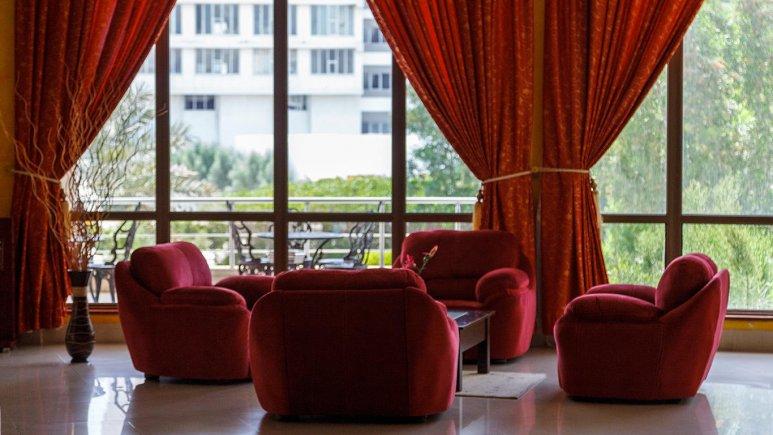 هتل گراند کیش لابی