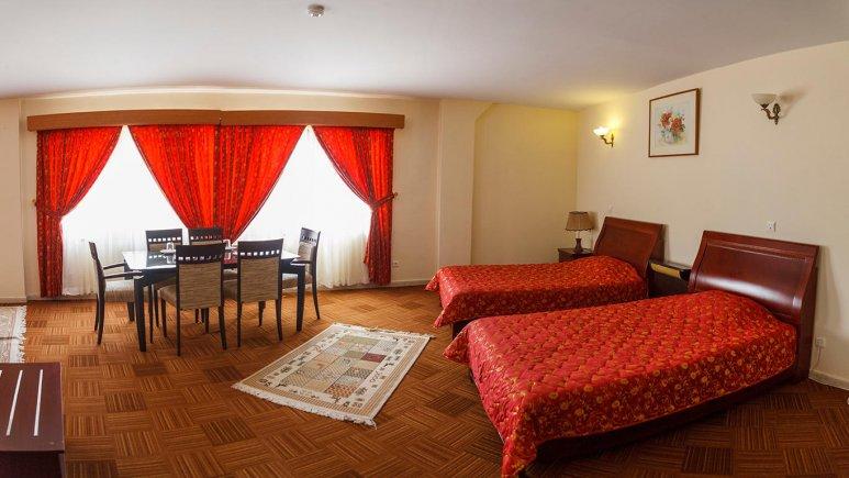 هتل گراند کیش دو تخته تویین 1