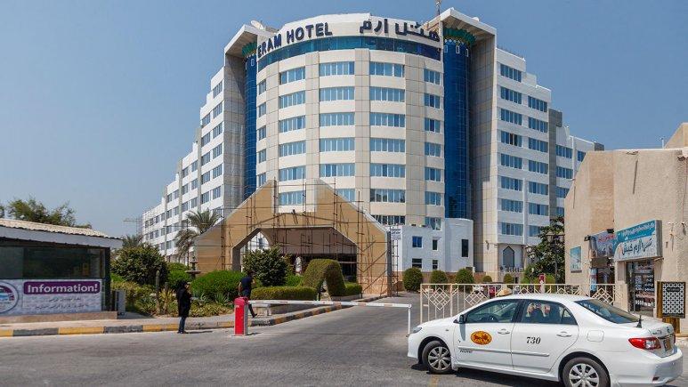 هتل ارم کیش نمای بیرونی