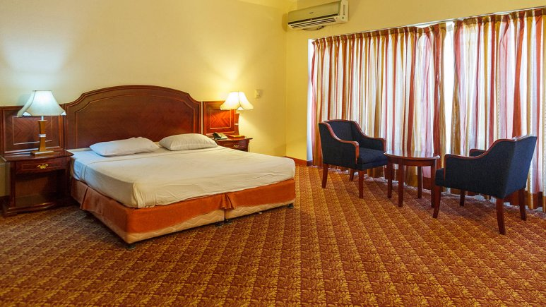 هتل ارم کیش اتاق دو تخته دابل